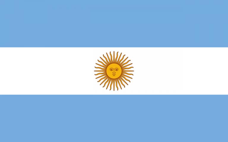 Знаме Аржентина