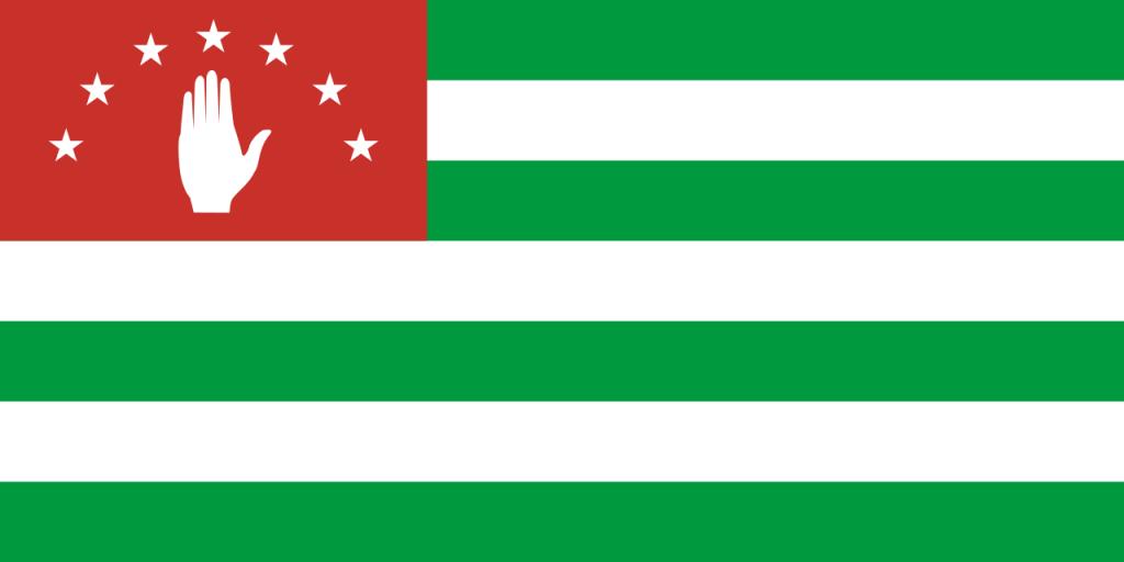 Знаме Абхазия