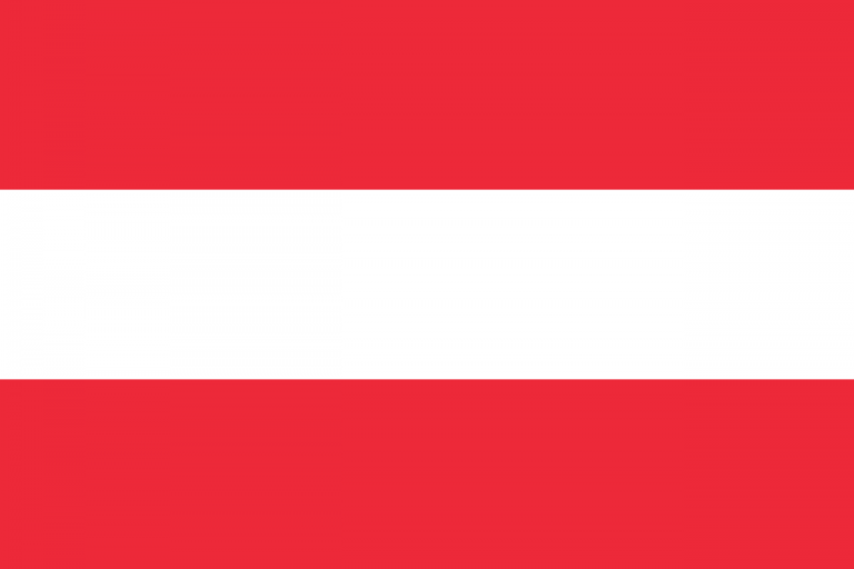 Знаме Австрия