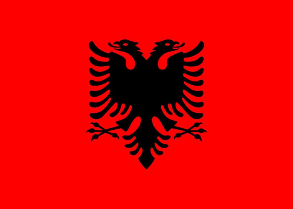 Знаме Албания
