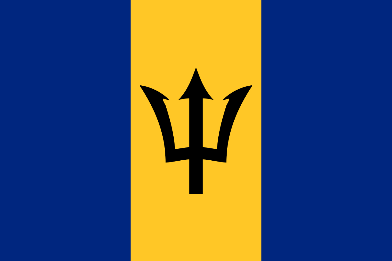 Знаме Барбадос