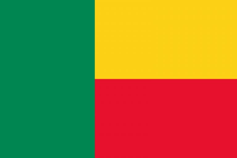 Знаме Бенин