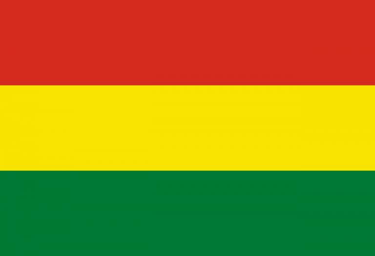 Знаме Боливия