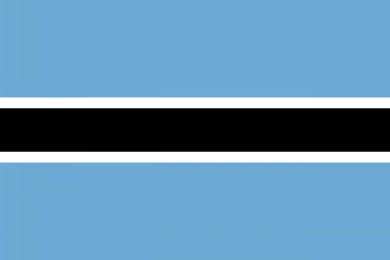 Знаме Ботсвана