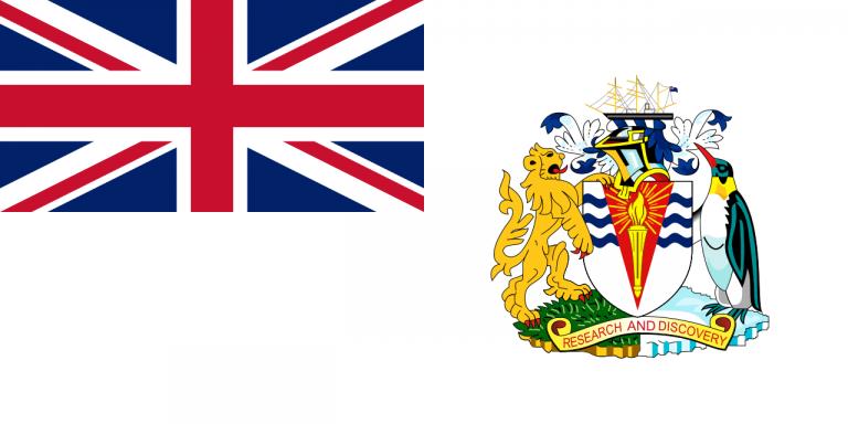 Знаме Британска антарктическа територия