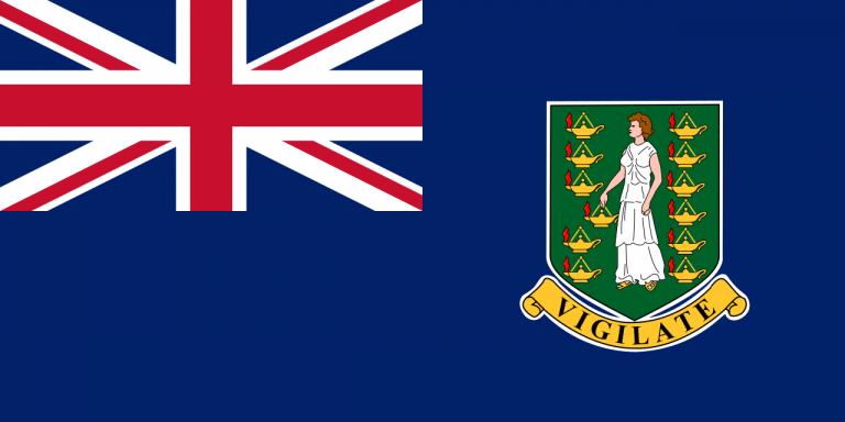 Знаме Британски Вирджински острови