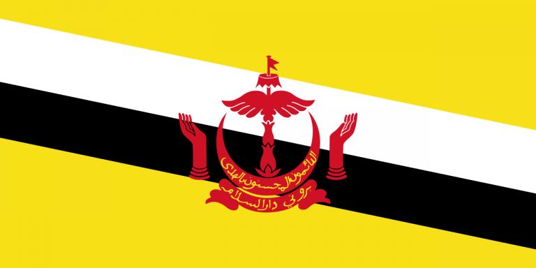 Знаме Бруней Дарусалам