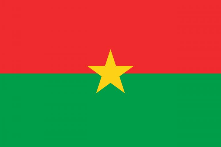 Знаме Буркина фасо