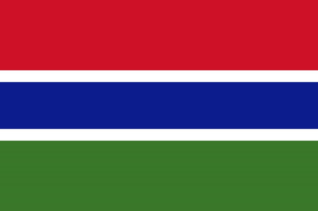 Знаме Гамбия