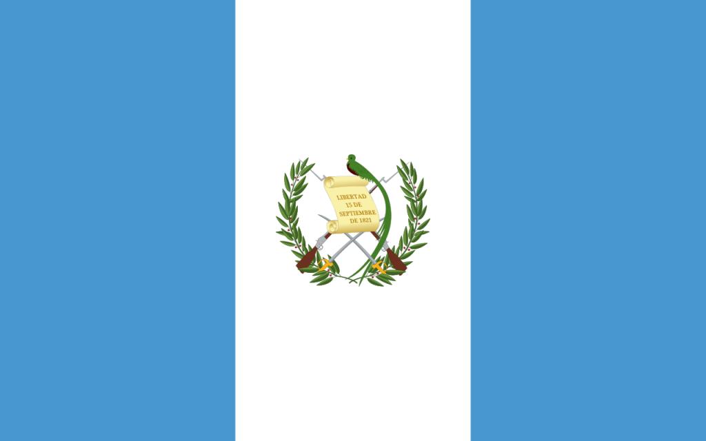 Знаме Гватемала