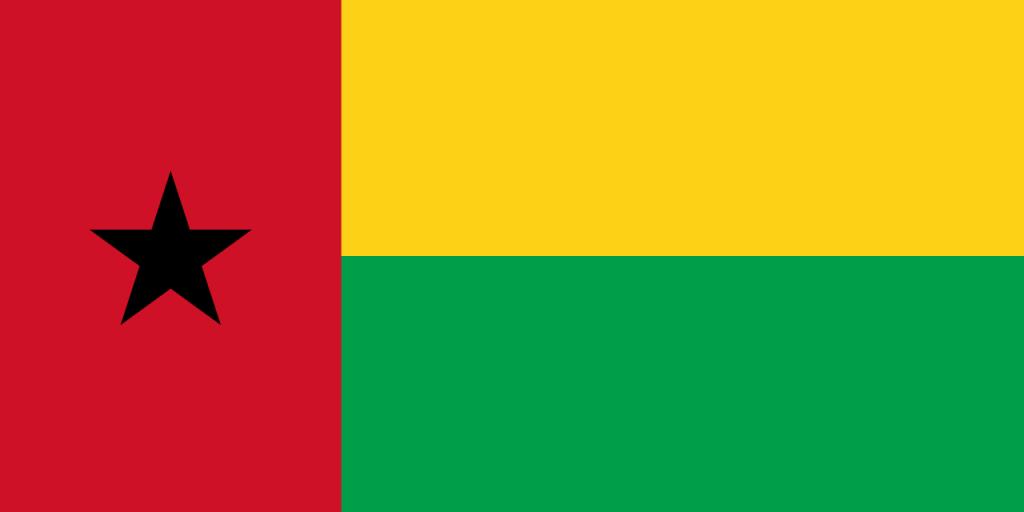 Знаме Гвинея-Бисау