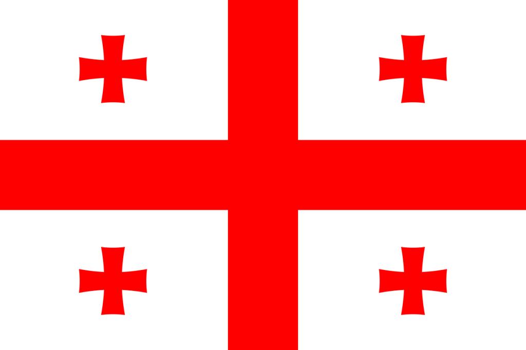 Знаме Грузия