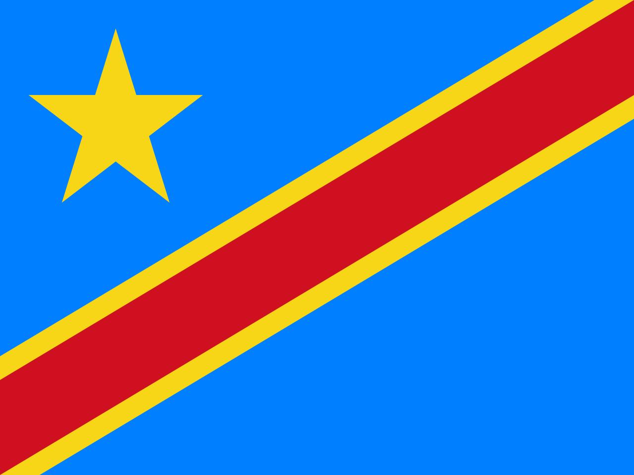 Знаме Демократична Република Конго