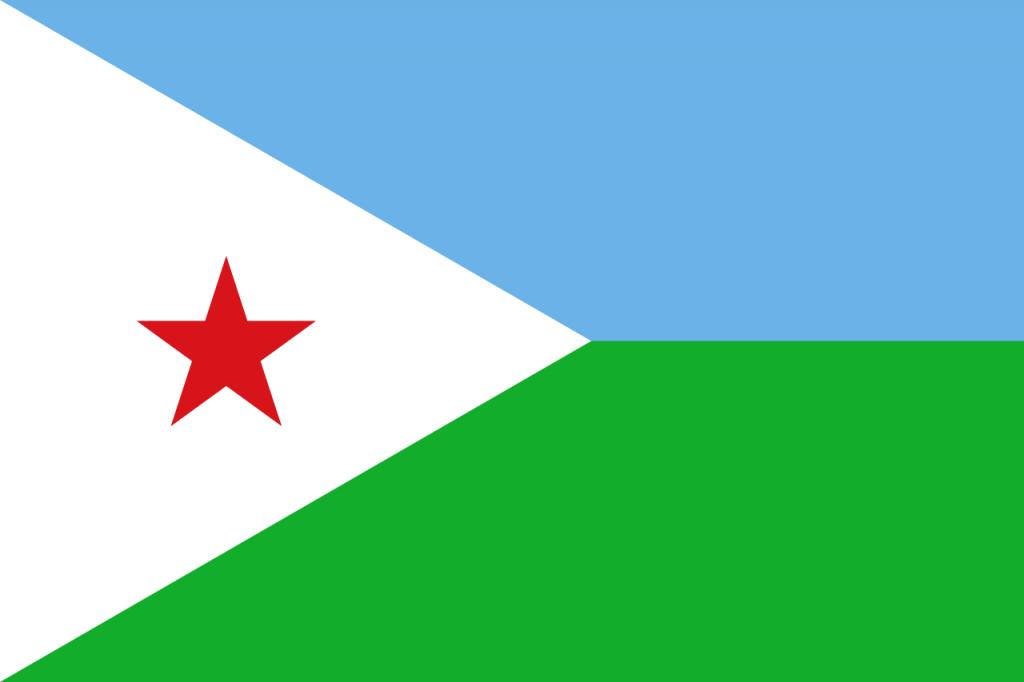 Знаме Джибути