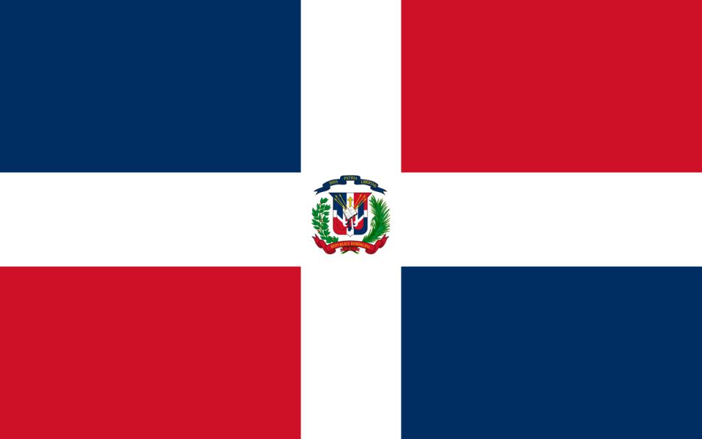Знаме Доминиканска република