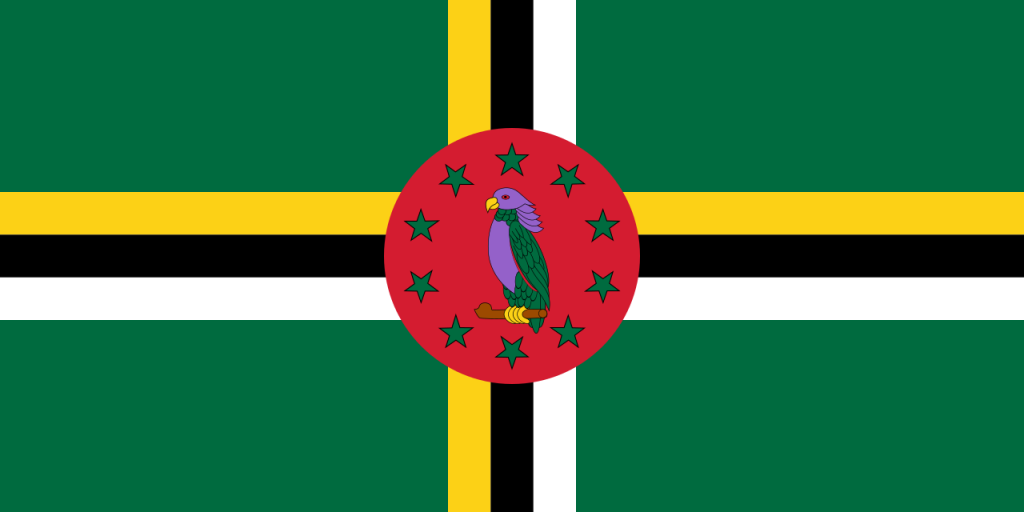 Знаме Доминика