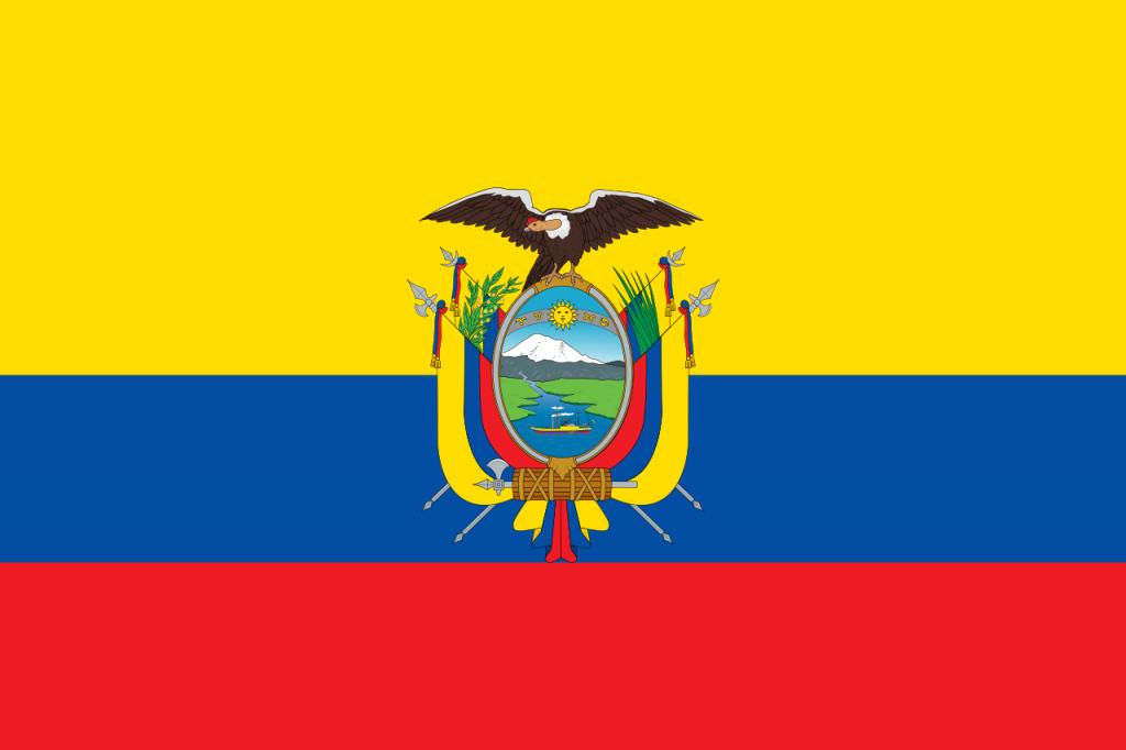 Знаме Еквадор