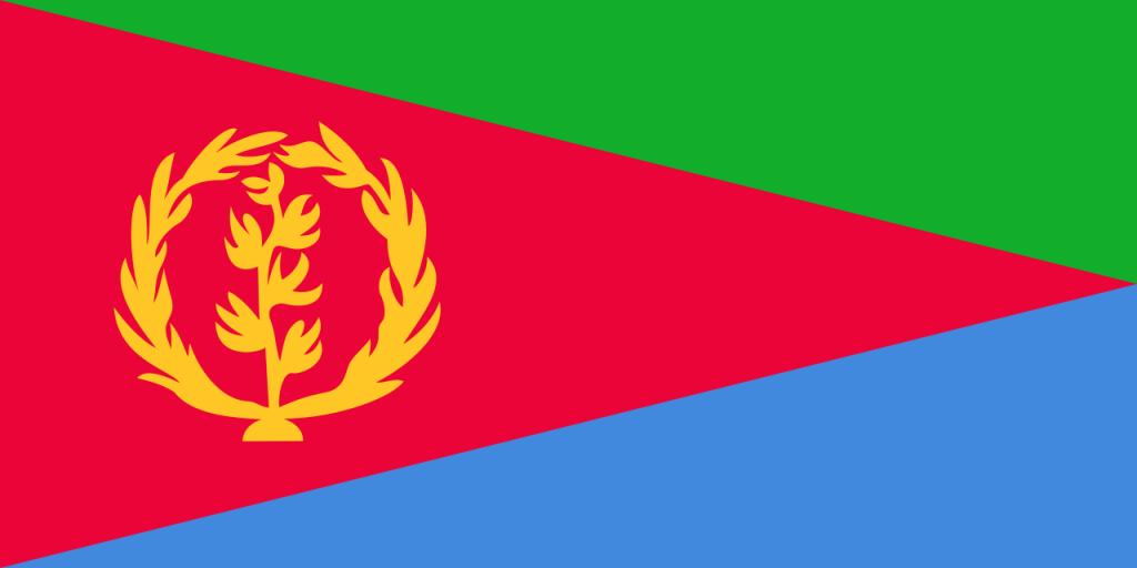 Знаме Еритрея