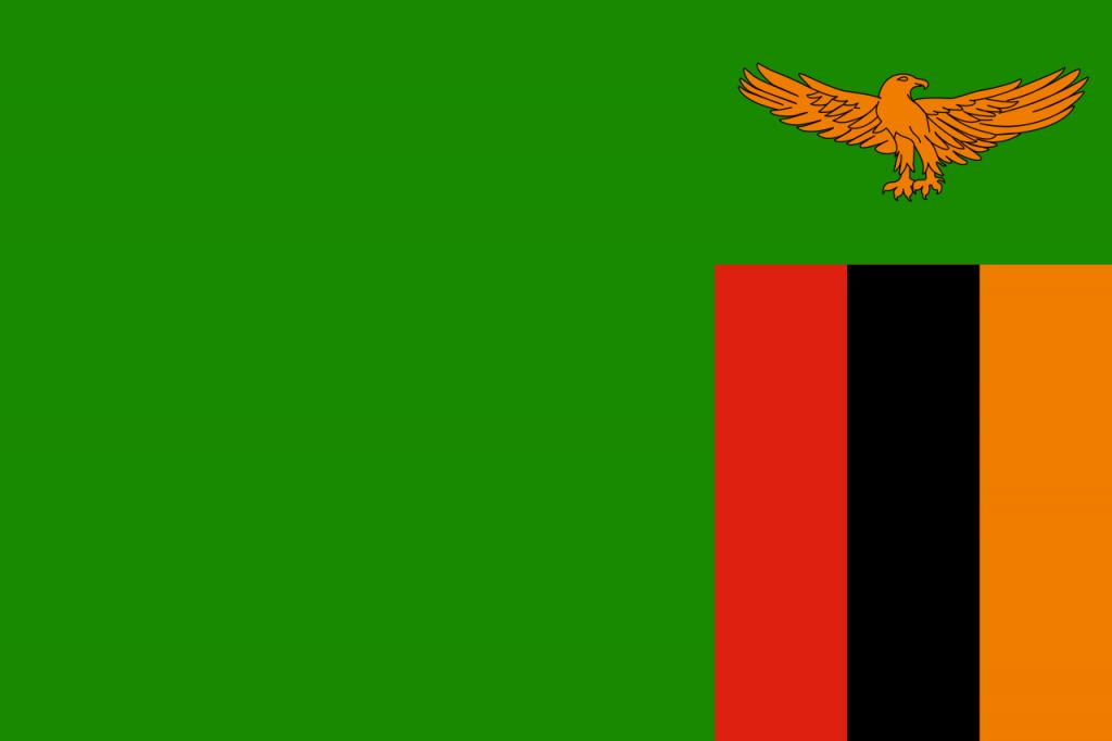 Знаме Замбия