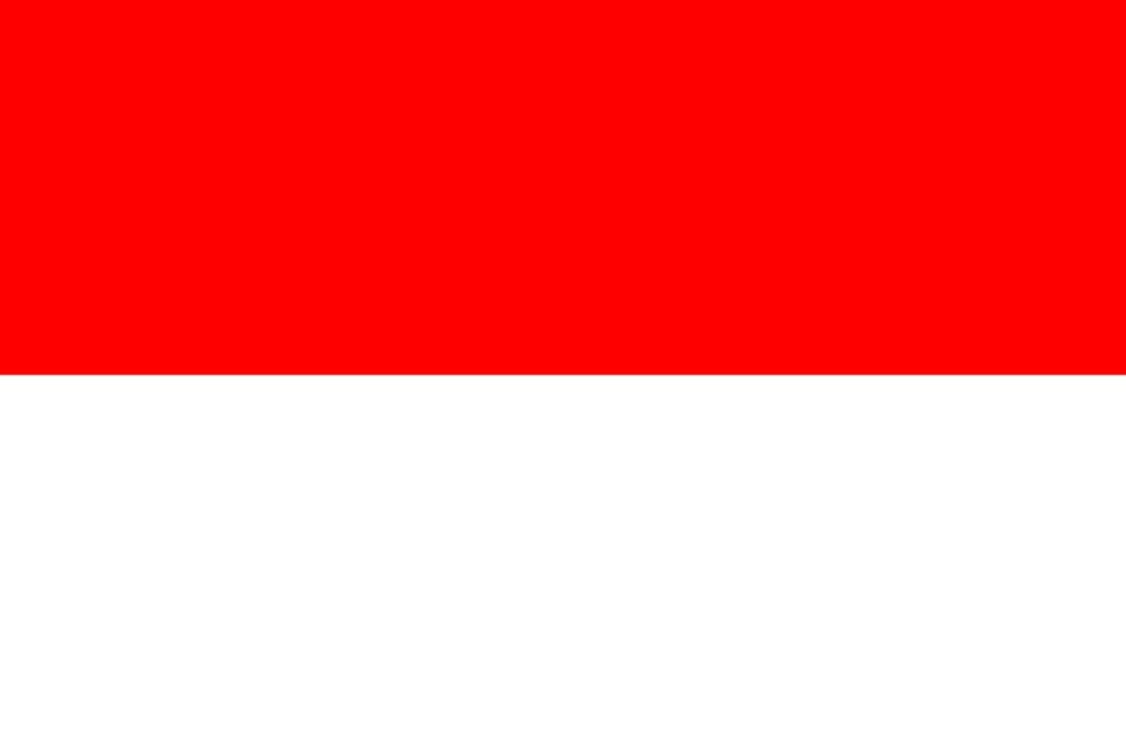 Знаме Индонезия