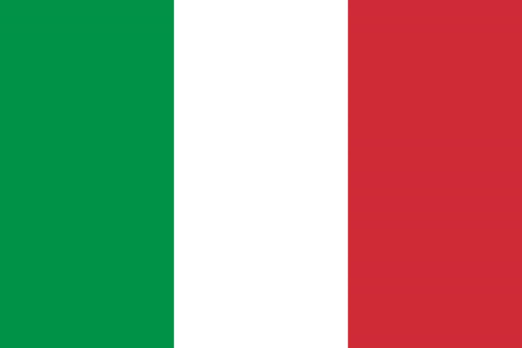 Знаме Италия