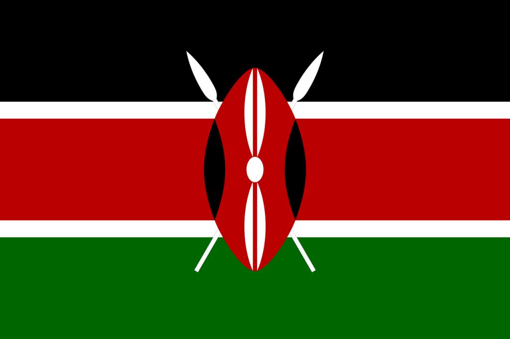 Знаме Кения