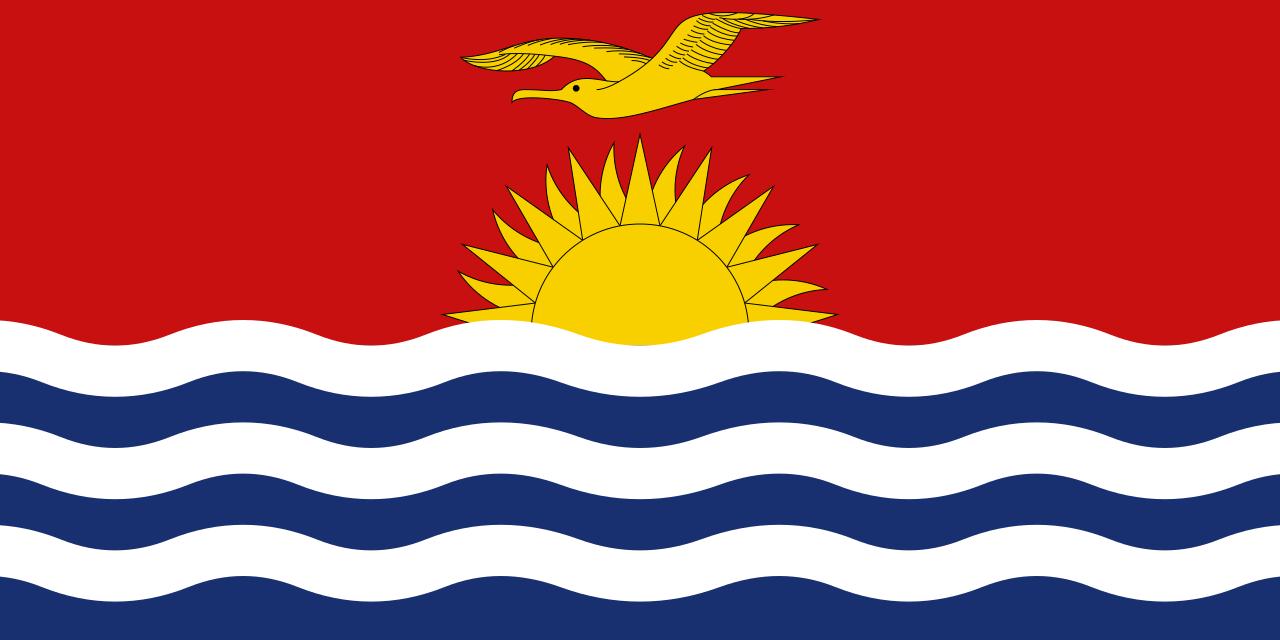 Знаме Кирибати