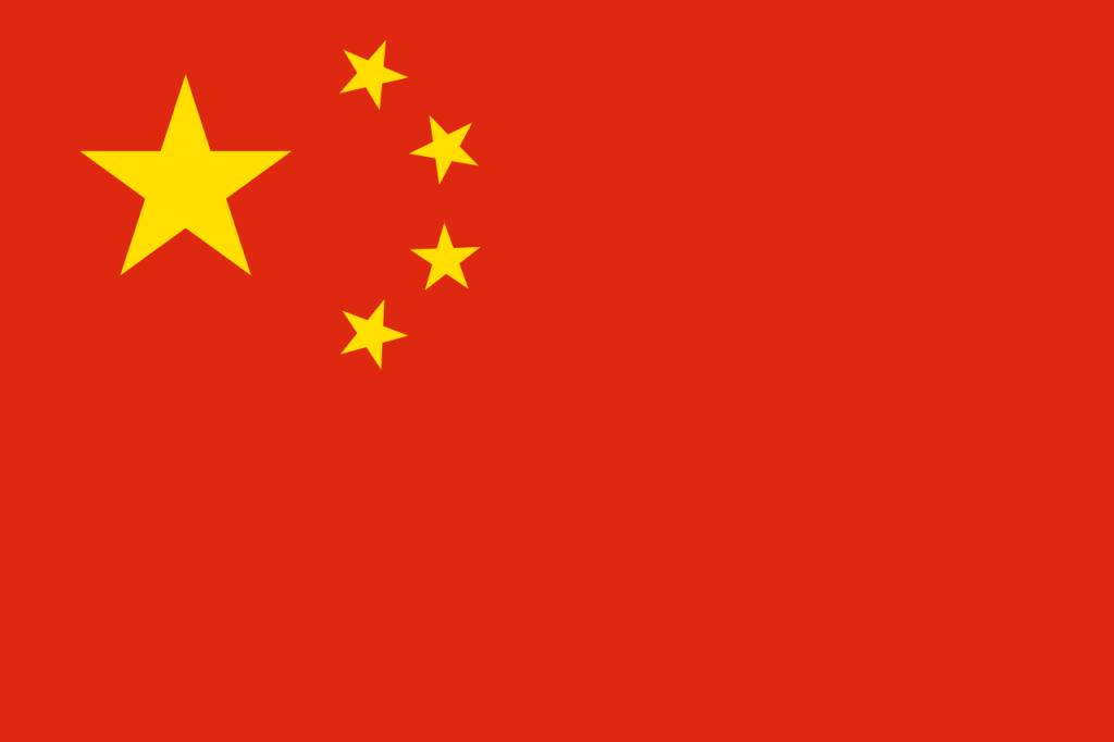 Знаме Китай
