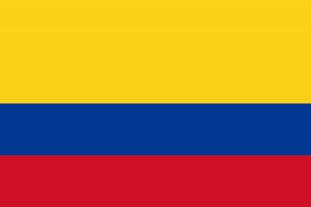 Знаме Колумбия