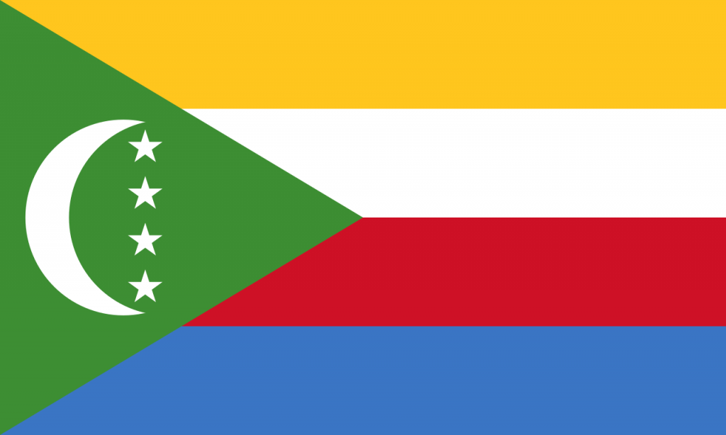 Знаме Коморски острови
