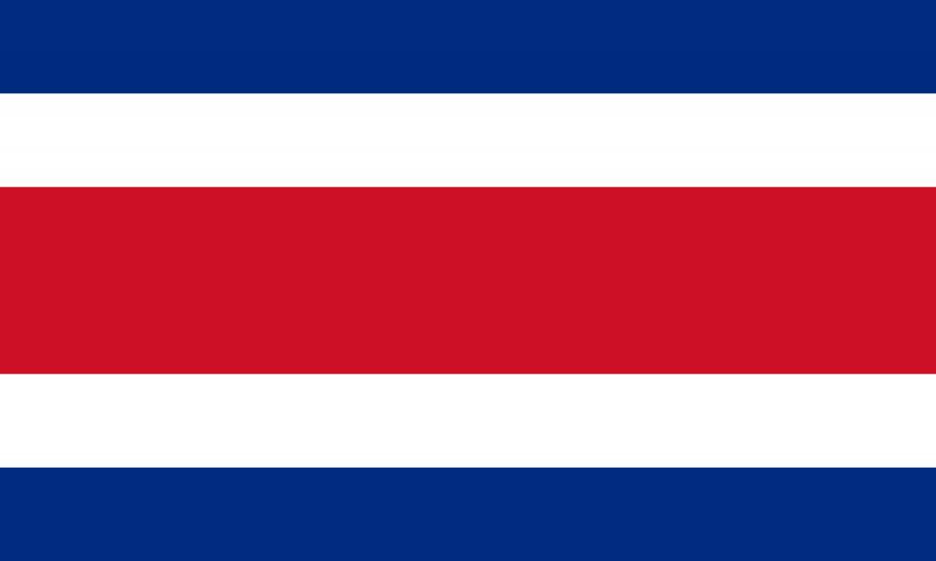 Знаме Коста Рика