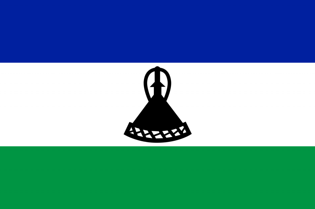 Знаме Лесото