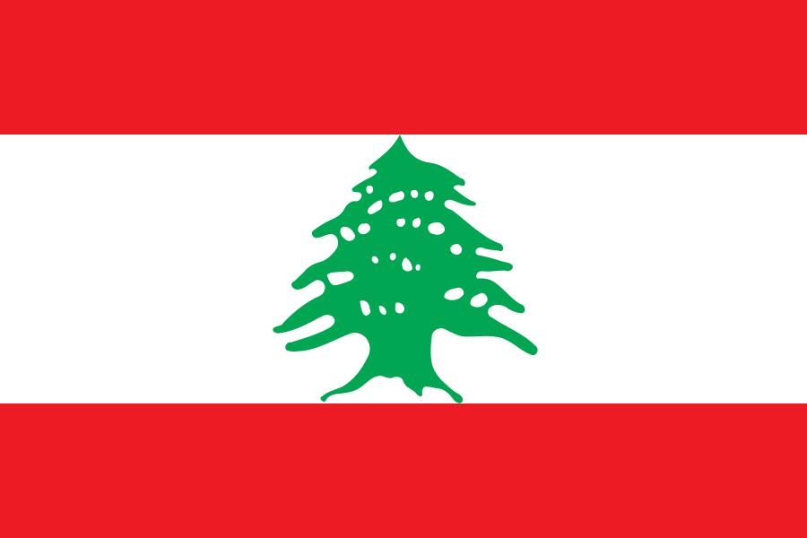 Знаме Ливан