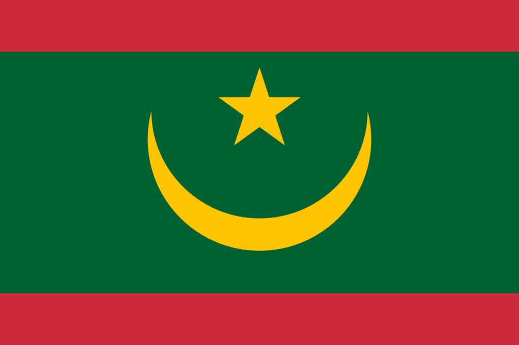 Знаме Мавритания