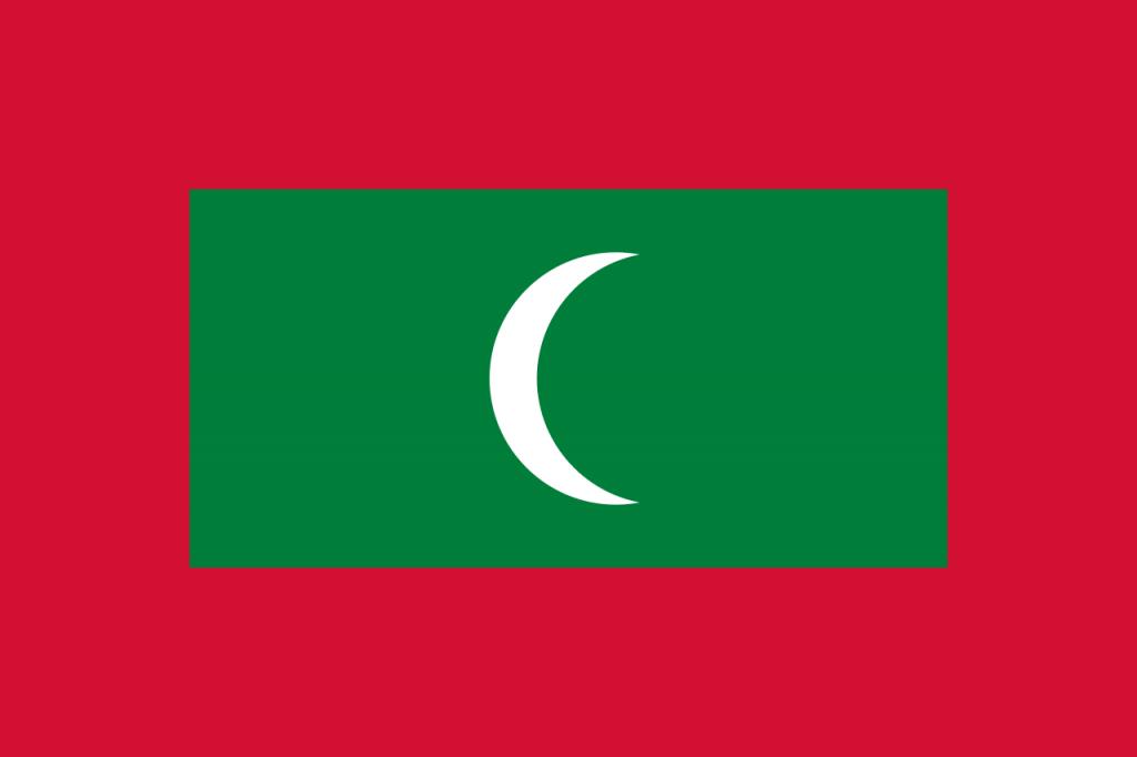 Знаме Малдиви