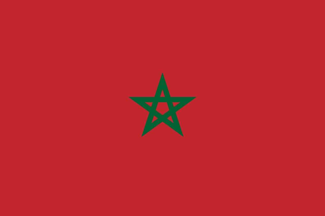 Знаме Мароко