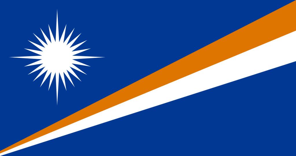 Знаме Маршалови острови