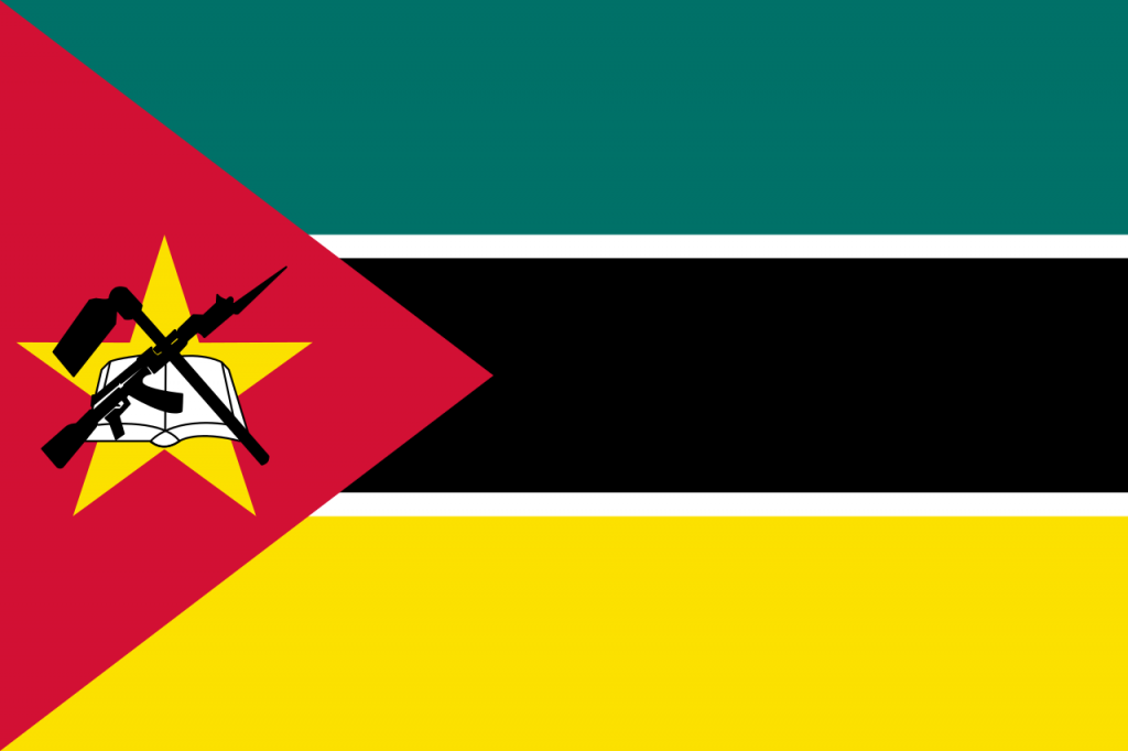 Знаме Мозамбик