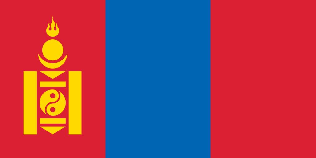 Знаме Монголия