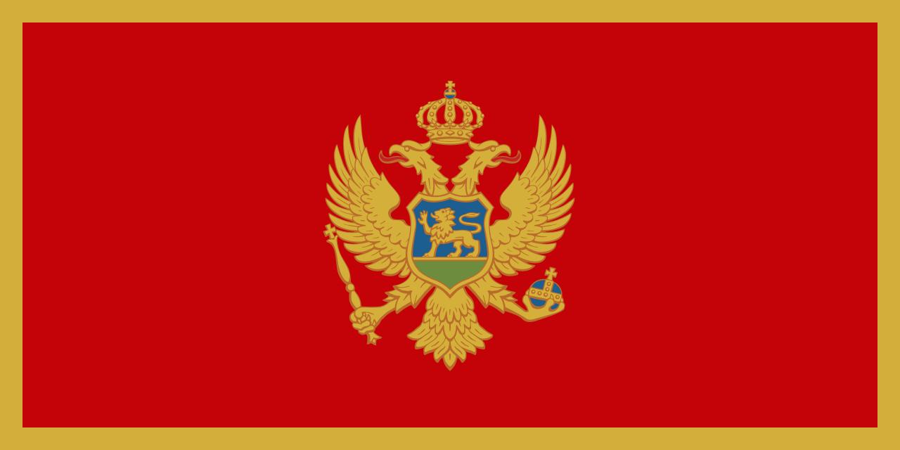 Знаме Монтенегро