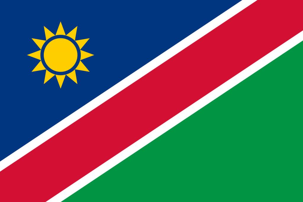 Знаме Намибия