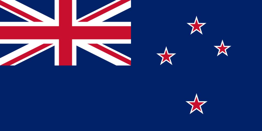 Знаме Нова Зеландия