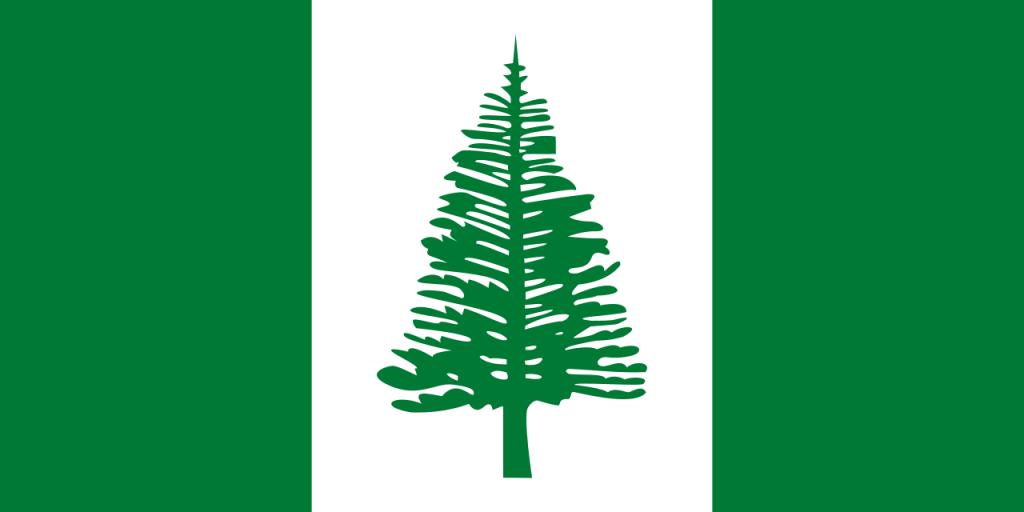 Знаме Норфолкски острови