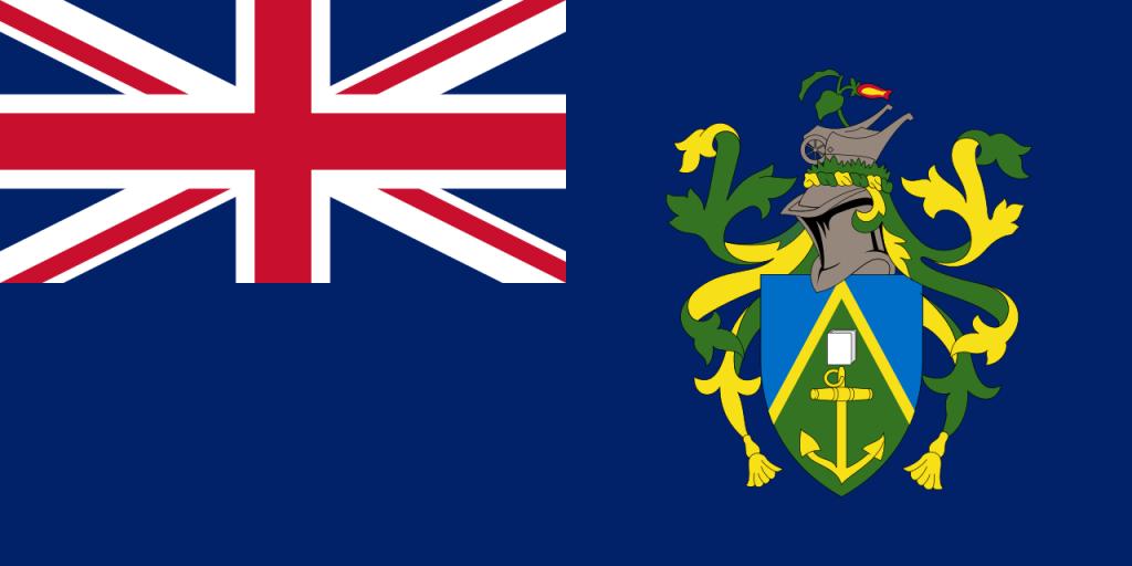 Знаме Острови Питкерн