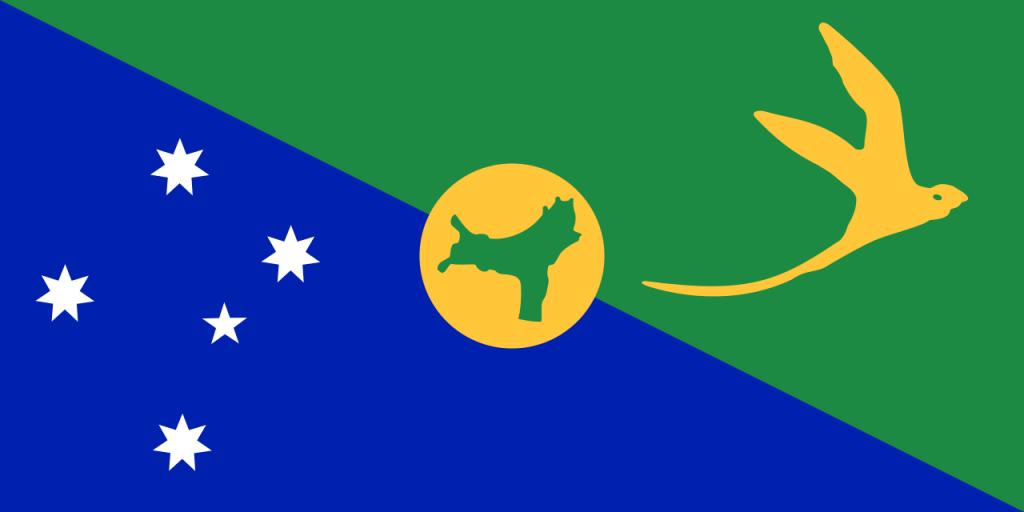 Знаме Остров Рождество