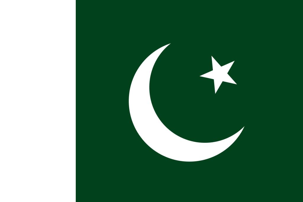 Знаме Пакистан