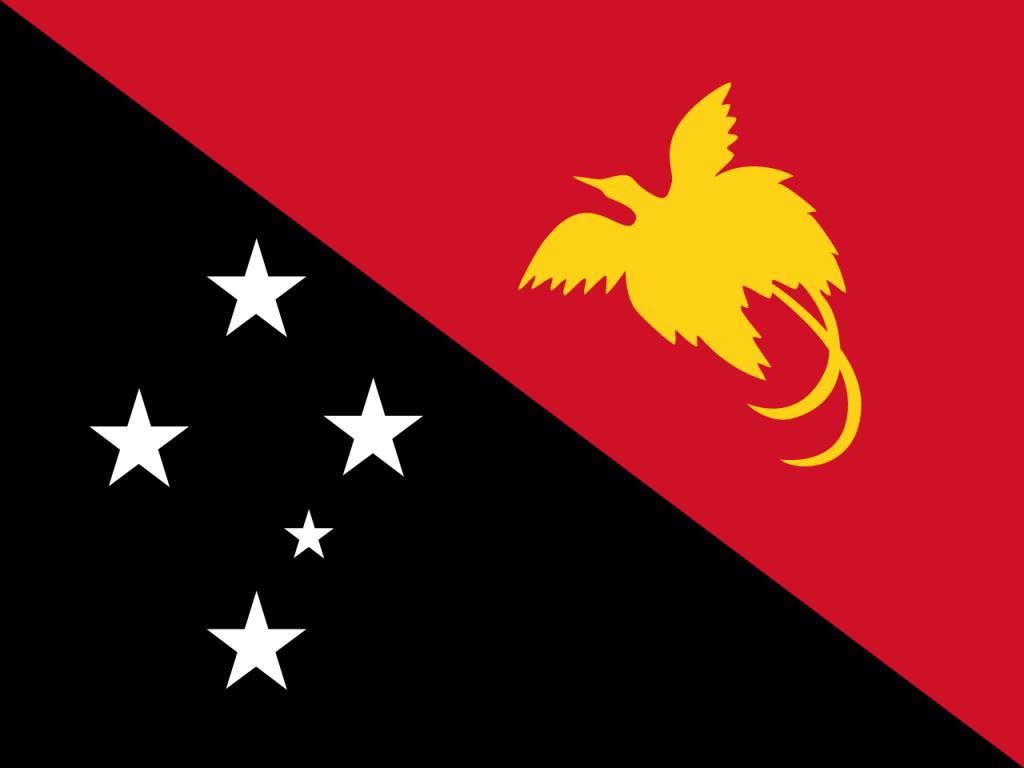 Знаме Папуа Нова Гвинея