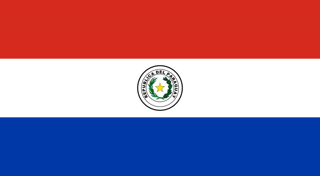 Знаме Парагвай