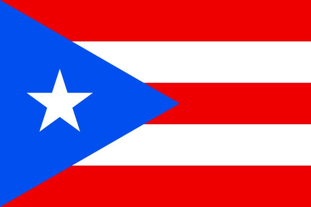 Знаме Пуерто Рико