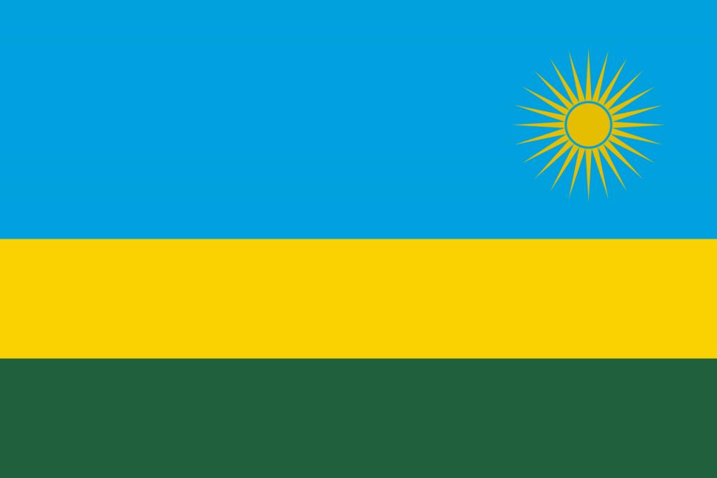 Знаме Руанда